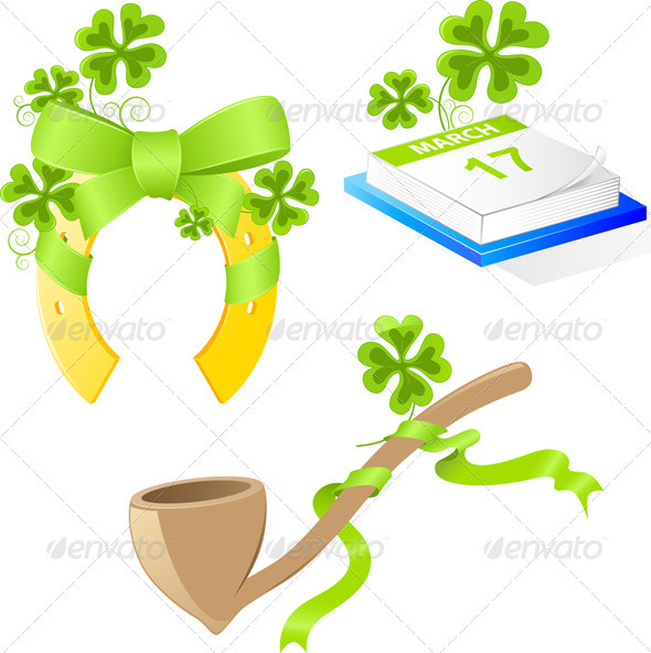 Saint Patrick's Day Symbols - Miscellaneous Seasons/Holidays