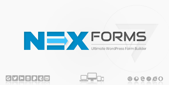 NEX-Forms - The Ultimate WordPress Form Builder Nulled