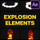 Explosion Elements | After Effects - VideoHive Item for Sale