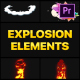 Explosion Elements | Premiere Pro MOGRT - VideoHive Item for Sale