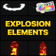 Explosion Elements | FCPX - VideoHive Item for Sale