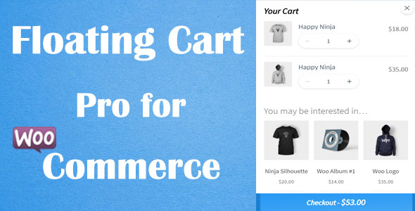 Floating Cart Builder Pro for WooCommerce