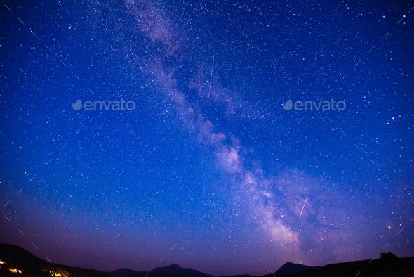 deep sky astrophoto - Stock Photo - Images