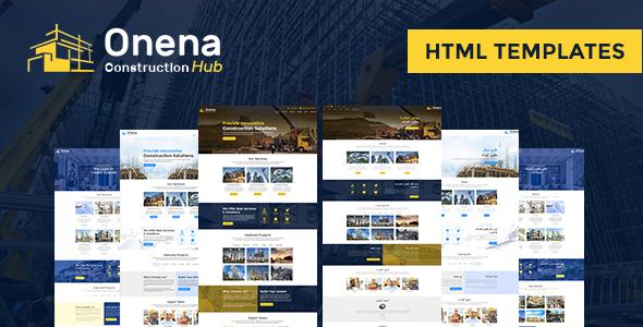 Onena Construction Hub HTML Template