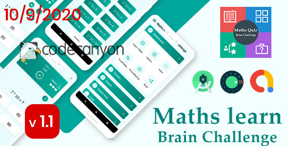 Ultimate Maths Quiz : Brain Challenge with admob ready to publish