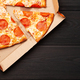 Tasty pepperoni pizza with salami - PhotoDune Item for Sale