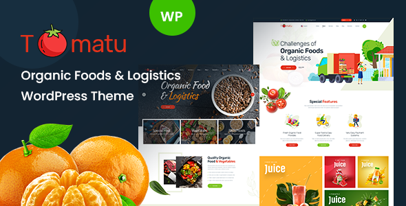 Tomatu - Organic Food WordPress Theme
