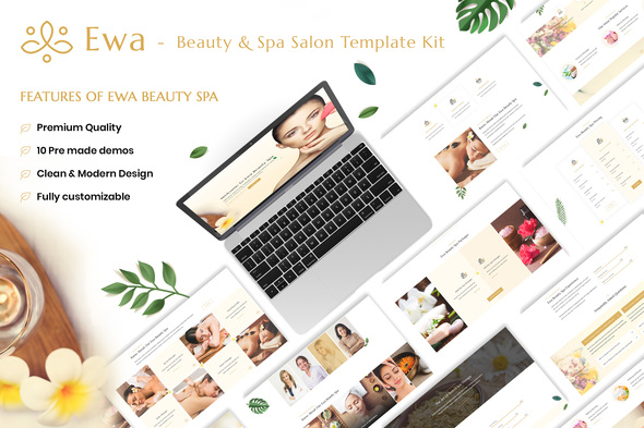 Ewa - Beauty & Spa Salon Elementor Template Kit