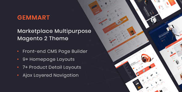 GemMart – Marketplace Multipurpose Magento 2 Theme