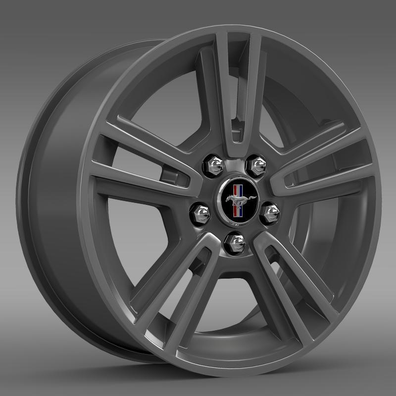 Ford Mustang 2013 rim - 3DOcean Item for Sale