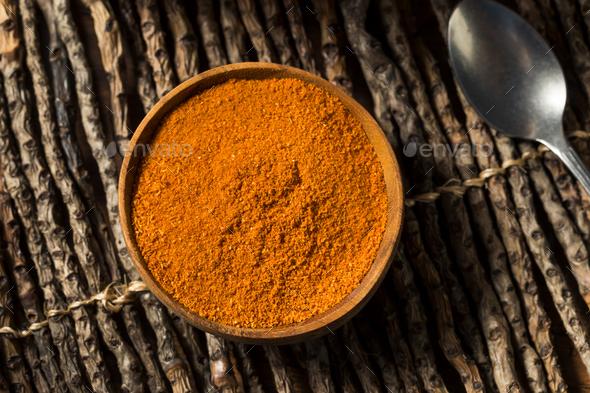 Raw Organic Indian Tandoori Spices - Stock Photo - Images