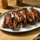 Homemade Smoked St Louis Style Spare Ribs - PhotoDune Item for Sale