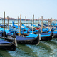 Gondolas at the Piazza San Marco - PhotoDune Item for Sale
