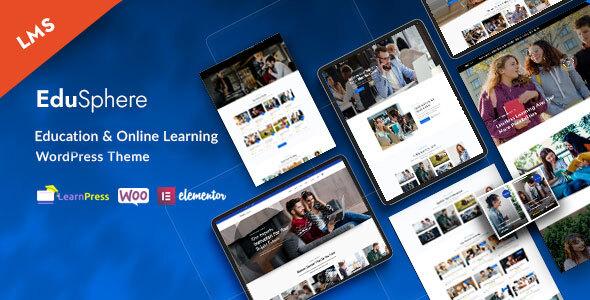 EduSphere – Education & Online Learning WordPress Theme