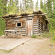 Old traditional Yukon log cabin Canada - PhotoDune Item for Sale
