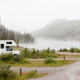 RV Summit Lake Stone Mountain Provincial Park BC - PhotoDune Item for Sale