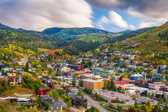 Park City, Utah, USA - Stock Photo - Images