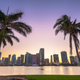 Miami, Florida, USA Downtown Skyline on the Bay - PhotoDune Item for Sale