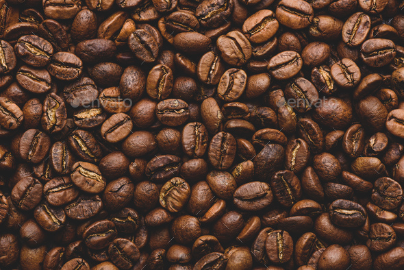 Fresh roasted coffee beans - Stock Photo - Images