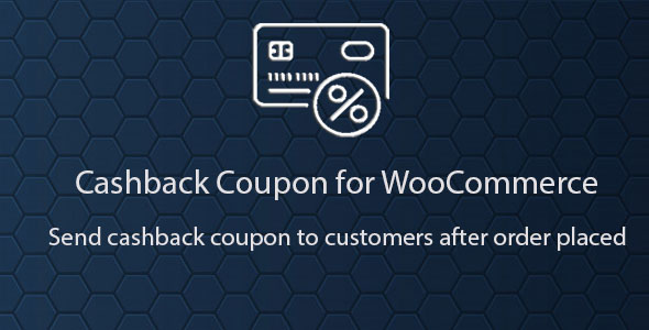 Cashback Coupon for WooCommerce