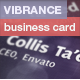 Vibrance Business Card - GraphicRiver Item for Sale
