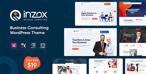 Download Inzox - Business Consulting WordPress Theme }}
