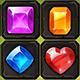 Match3 Game Set - Jewelry Style