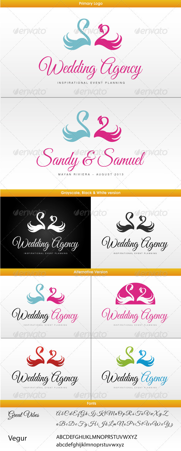Wedding Logo - Symbols Logo Templates