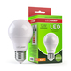 Led lamp with package box isolated on white. Energy efficient light bulb. - PhotoDune Item for Sale