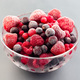 Frozen berries in bowl, raspberry, strawberry, cranberry and black currant - PhotoDune Item for Sale