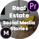 Real Estate Social Media Stories for Instagram / Facebook / Snapchat – Premiere Pro - VideoHive Item for Sale