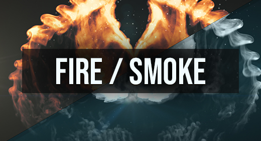 Fire & Smoke Logo reveal