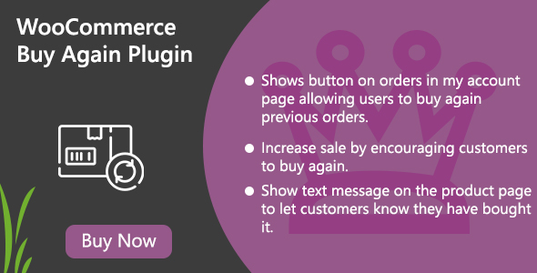 WooCommerce Buy Again Plugin