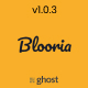 Blooria - Modern and Clean Magazine Ghost Blog Theme