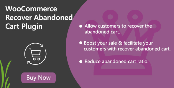 WooCommerce Recover Abandoned Cart Plugin
