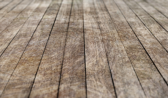 Rustic wooden planks product background - Stock Photo - Images