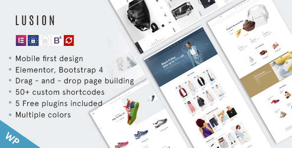 Lusion – Multipurpose eCommerce WordPress Theme