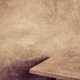 wooden table and aged concred wall background - PhotoDune Item for Sale