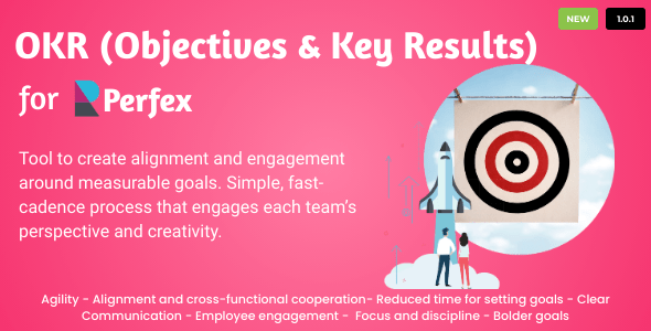 OKRs - Objectives and Key Results for Perfex CRM