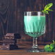 Glass of Grasshopper Cocktail - PhotoDune Item for Sale