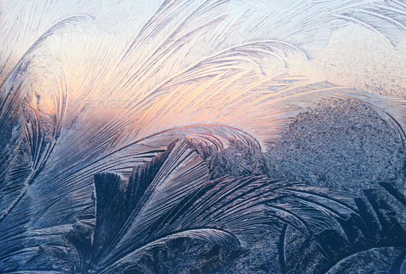 frost and sunlight texture - Stock Photo - Images