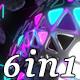 Pulse Light - VJ Loop Pack (6in1) - VideoHive Item for Sale