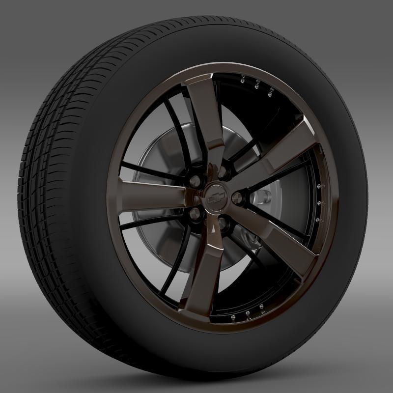 Chevrolet Camaro 2008 BlackConcept - 3DOcean Item for Sale