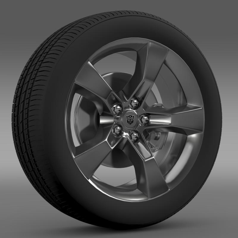 Chevrolet Camaro 2010 transformer wheel - 3DOcean Item for Sale