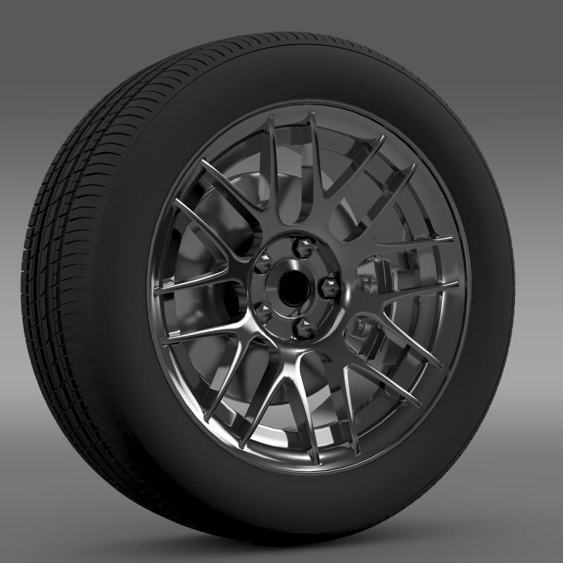 Chevrolet Camaro 2012 Hennesey wheel - 3DOcean Item for Sale