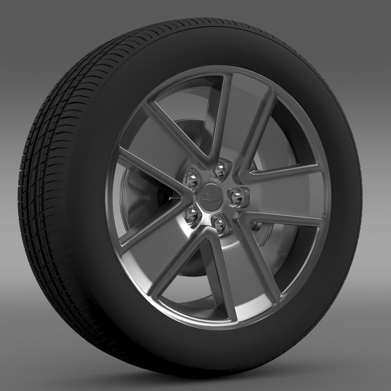 Chevrolet Camaro Redflash 2010 wheel - 3DOcean Item for Sale