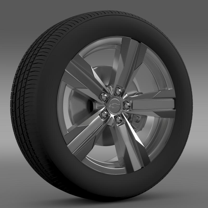 Chevrolet Camaro ZL1 2012 wheel - 3DOcean Item for Sale