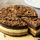 Triple chocolate layers baked cheese cake - PhotoDune Item for Sale
