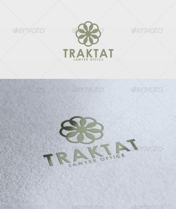Traktat Logo - Vector Abstract