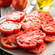 Sliced red beefsteak tomatoes - PhotoDune Item for Sale